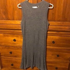 Grey knit dress LIKE NEW